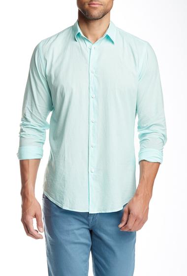 Imbracaminte Barbati Onia Albert Voile Long Sleeve Slim Shirt BLUE LIGHT
