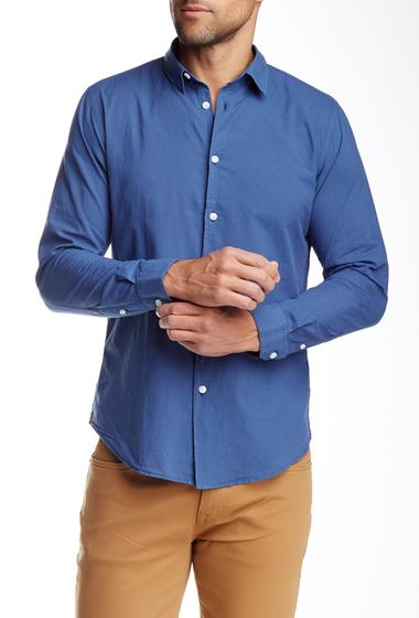 Imbracaminte Barbati Onia Albert Voile Long Sleeve Slim Shirt VINTAGE INDIGO