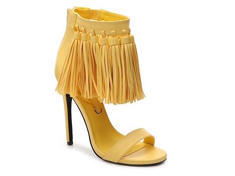 Incaltaminte Femei Privileged Elia Sandal Yellow