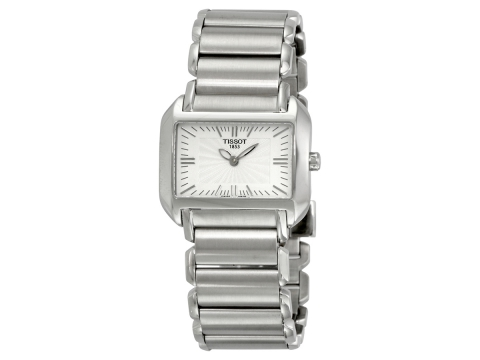 Ceasuri Femei Tissot T-Wave Silver Dial Stainless Steel Ladies Watch T0233091103100 Silver