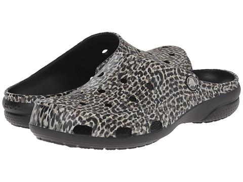 Incaltaminte Femei Crocs Freesail Leopard Print Clog Black