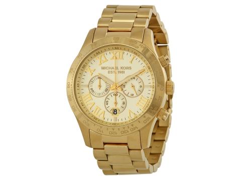 Ceasuri Barbati Michael Kors Layton Chronograph Champagne Dial Men's Watch Champagne