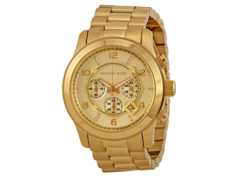 Ceasuri Barbati Michael Kors Gold-tone Men's Watch Champagne