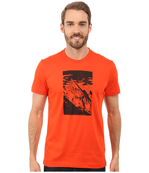 Imbracaminte Barbati adidas Hiking Mountain Tee Bold Orange