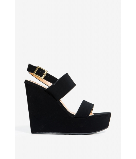 Incaltaminte Femei CheapChic Charade-06m Lost In Love Wedge Black