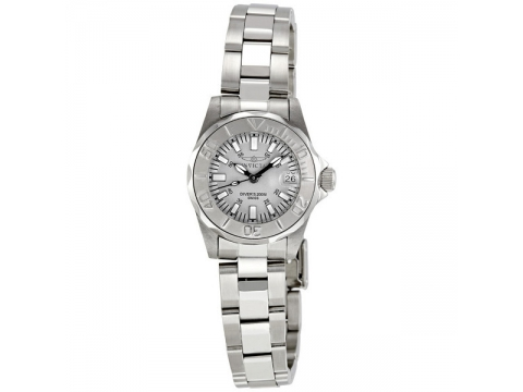 Ceasuri Femei Invicta Watches Pro Diver Light Gray Dial Stainless Steel Ladies Watch Grey