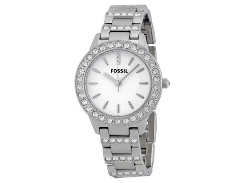 Ceasuri Femei Fossil Glitz White Dial Stainless Steel Ladies Watch White