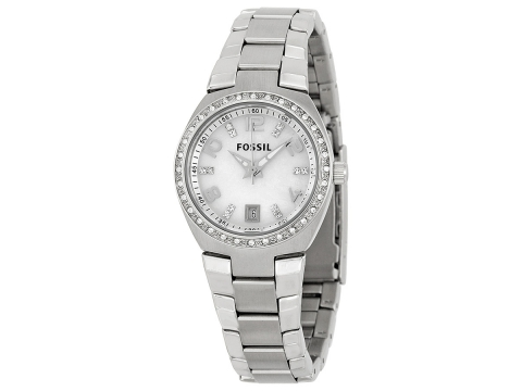 Ceasuri Femei Fossil Glitz Mother of Pearl Analog Dial Ladies Watch Mother of Pearl