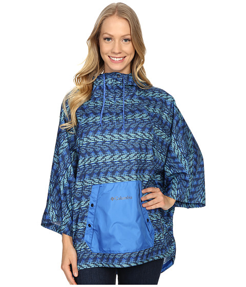 Imbracaminte Femei Columbia Flash Forwardtrade Anorak Stormy Blue Matrix Print