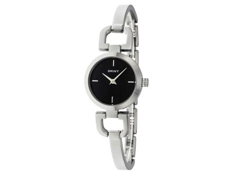 Ceasuri Femei DKNY Black Dial Stainless Steel Bracelet Ladies Watch Black