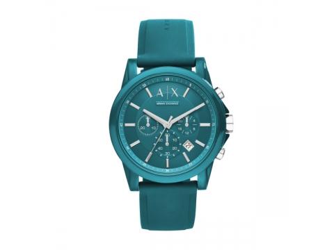 Ceasuri Barbati Armani Exchange Outerbanks Blue Dial Men's Chronograph Watch Blue