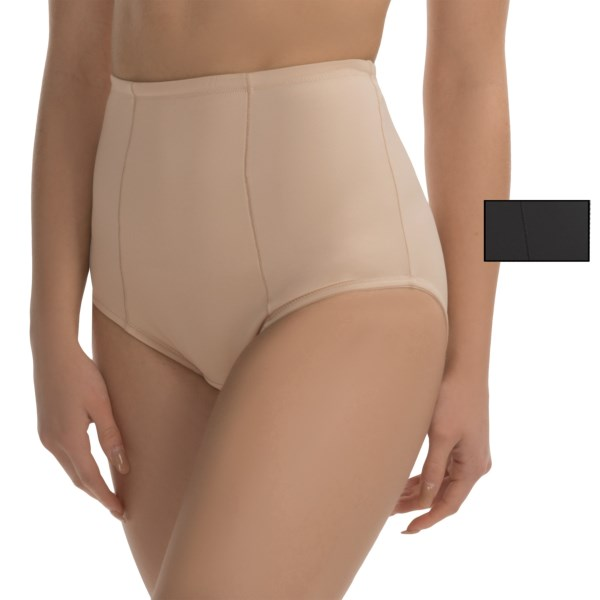 Imbracaminte Femei Ellen Tracy Micro Tummy-Smoother Panties - 2-Pack Briefs BLACKSUNBEIGE (03)