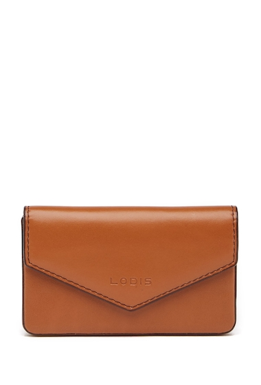 Genti Femei Lodis Accessories Audrey Maya Leather Card Case TOFFEE