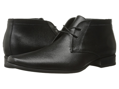 Incaltaminte Barbati Calvin Klein Ballard Black Epi Leather