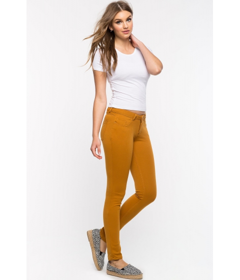 Imbracaminte Femei CheapChic Makes Me Happy Ponte Pants Mustard