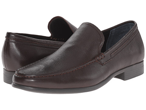 Incaltaminte Barbati Calvin Klein Landen Dark Brown Tumbled Leather