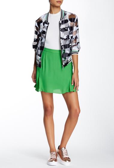 Imbracaminte Femei Rebecca Minkoff Kensett Silk Skirt AMAZON GREEN