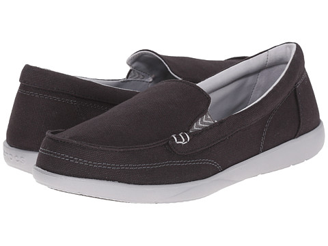Incaltaminte Femei Crocs Walu II Canvas Loafer BlackGraphite