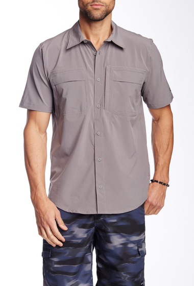 Imbracaminte Barbati Oakley Efficiency Short Sleeve Regular Fit Shirt Grigio Scuro