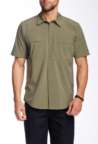 Imbracaminte Barbati Oakley Efficiency Short Sleeve Regular Fit Shirt Worn Olive