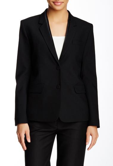 Imbracaminte Femei Helmut Lang Lapel Seam Wool Blend Blazer BLACK