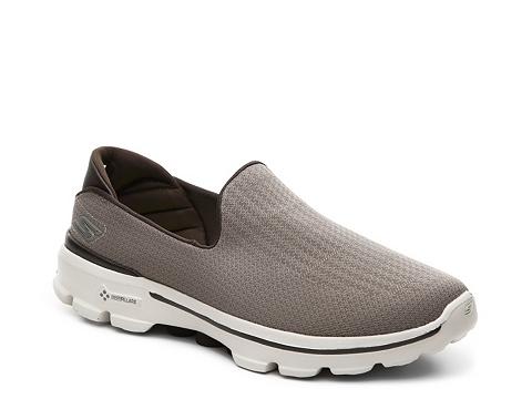 Incaltaminte Barbati SKECHERS GOwalk 3 Slip-On Walking Shoe - Mens Tan