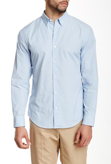 Imbracaminte Barbati Perry Ellis Long Sleeve Check Shirt KENTUCKY BLUE