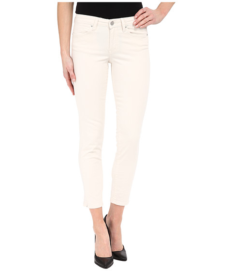 Imbracaminte Femei Calvin Klein Five-Pocket Cropped Color Driver Jeans in Misty White Misty White