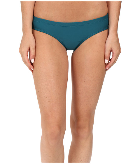 Imbracaminte Femei Volcom Simply Solid Cheeky Bottoms Stormy Blue