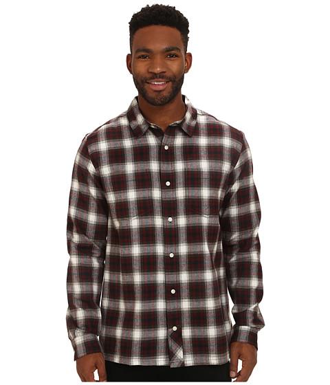 Imbracaminte Barbati ToadCo Flannagan Straight Hem Long Sleeve Shirt Brown Madder
