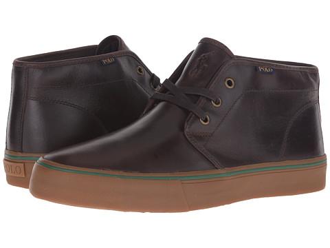 Incaltaminte Barbati US Polo Assn Maykn Dark Brown Smooth Oil Leather