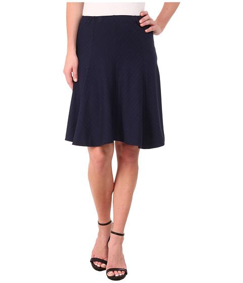 Imbracaminte Femei Three Dots Stripe Ponte Seamed Skirt Night Iris