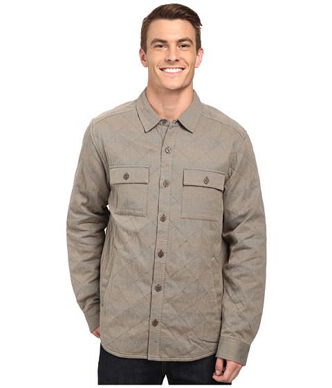 Imbracaminte Barbati ToadCo Klamath Quilted Shirt Jacket Buckskin