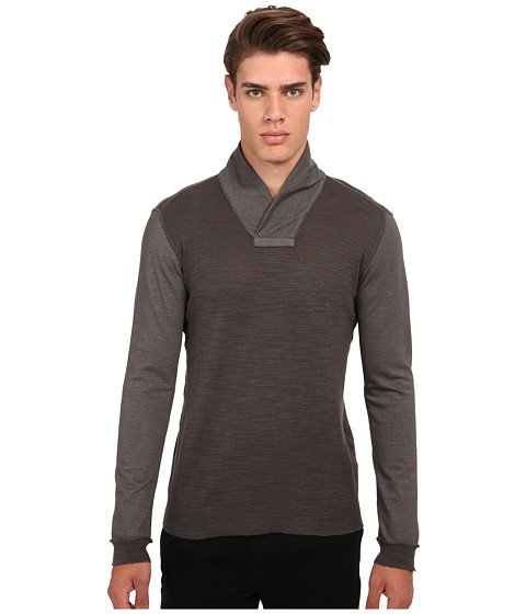 Imbracaminte Barbati John Varvatos Long Sleeve Pullover Sweater Y1235R4B Cast Iron