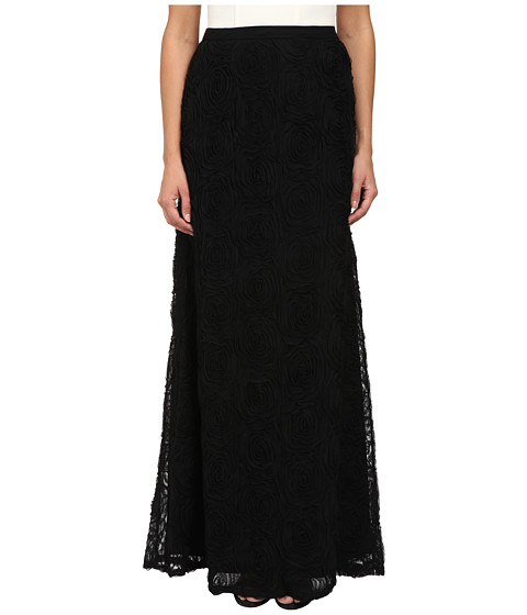 Imbracaminte Femei Adrianna Papell A-Line Tule Flower Skirt Black