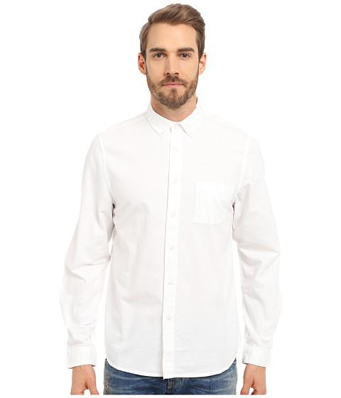 Imbracaminte Barbati Alternative Apparel Industry Shirt White Oxford