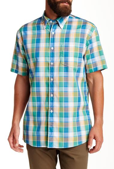 Imbracaminte Barbati Pendleton Short Sleeve Fremont Regular Fit Shirt BLUORANG