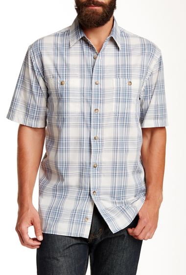 Imbracaminte Barbati Pendleton Short Sleeve Santiam Regular Fit Shirt WHITE