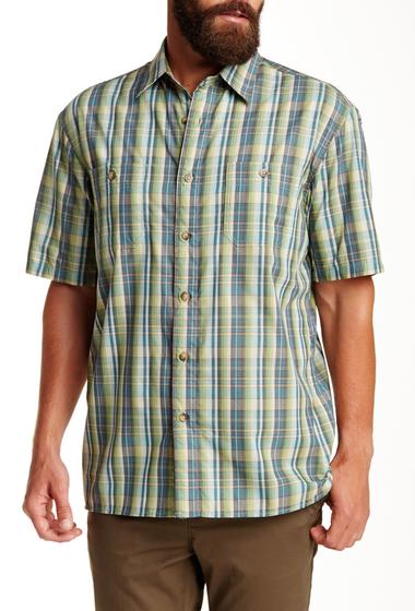 Imbracaminte Barbati Pendleton Short Sleeve Santiam Regular Fit Shirt GREEN