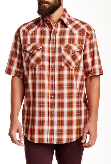 Imbracaminte Barbati Pendleton Short Sleeve Frontier Regular Fit Shirt RUST