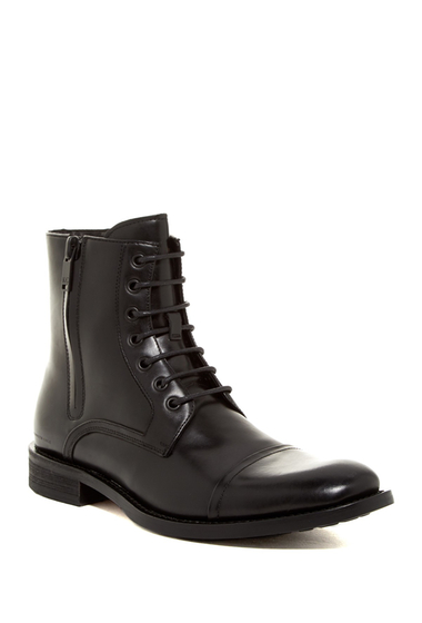 Incaltaminte Barbati Kenneth Cole New York Mind Over Matter Cap Toe Boot Black