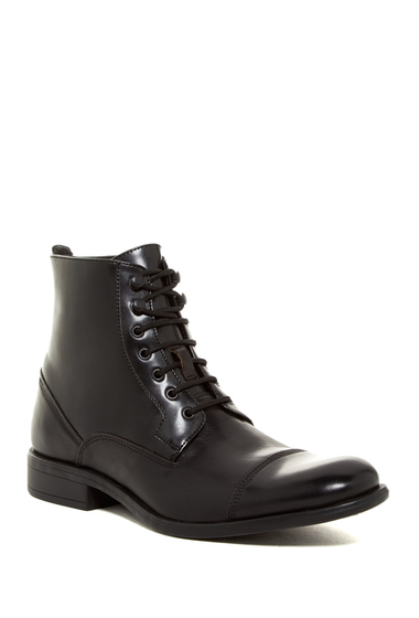 Incaltaminte Barbati Kenneth Cole New York Smash Bash Cap Toe Boot Black
