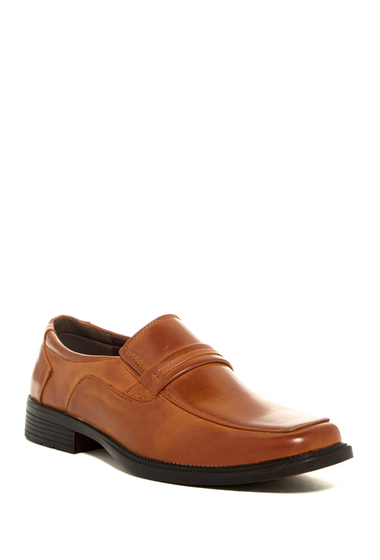 Incaltaminte Barbati Eddie Marc Apron Toe Loafer BROWN
