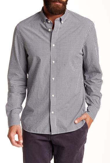Imbracaminte Barbati JACHS Gingham Long Sleeve Classic Fit Shirt BLACK