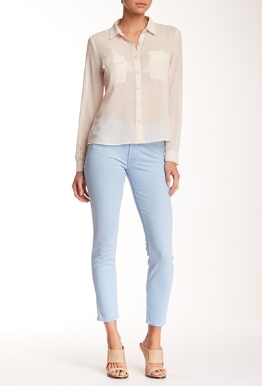 Imbracaminte Femei MOTHER The Muse Ankle Straight Leg Jean HUSH