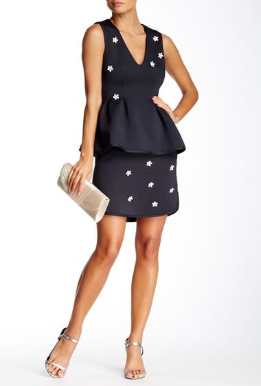 Imbracaminte Femei Cynthia Rowley Jewel Embellished Bonded Skirt BLACK