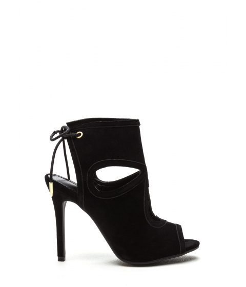 Incaltaminte Femei CheapChic Shed A Tear Faux Suede Booties Black