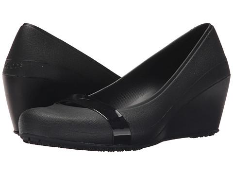 Incaltaminte Femei Crocs Crocs Brynn Wedge BlackBlack