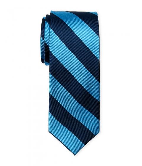 Accesorii Barbati Pierre Cardin Club Stripe Slim Silk Tie Blue