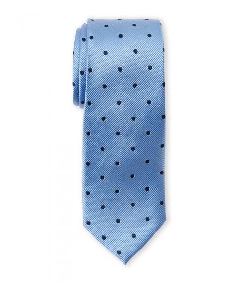 Accesorii Barbati Pierre Cardin Silk Polka Dot Slim Tie Blue Navy